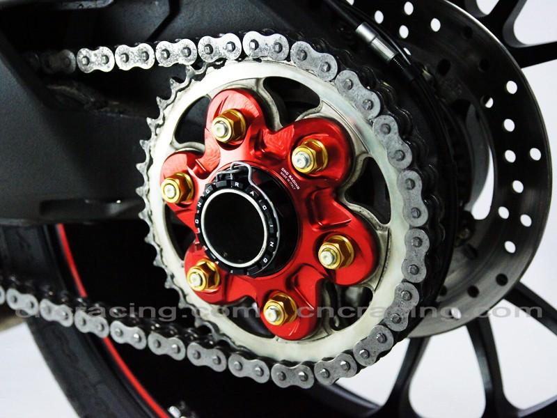 Kettenblatttr 228 Ger Rot Cnc Racing F 252 R Ducati Diavel Panigale Ebay